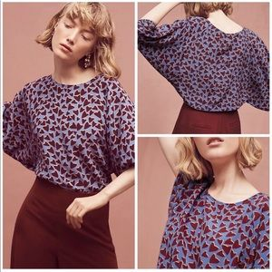 Anthropologie | Maeve Heart Top